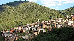 Gurro - view of The town