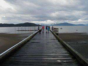 Gustavus, Alaska - The original Gustavus dock, which has since been replaced.