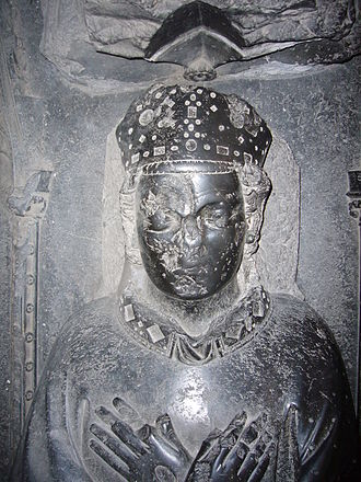 Guy of Avesnes - Damaged face on the tomb of Guy van Avesnes in Utrecht cathedral