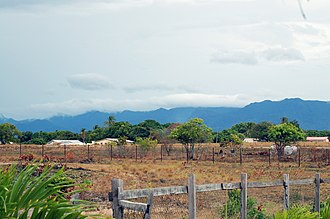 Lethem, Guyana - Lethem, looking across the savannah to the south