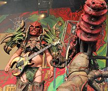 GWAR performing on the Ronnie James Dio Stage at Bloodstock Open Air 2010