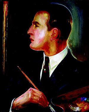 Gustaw Gwozdecki - Self Portrait (1928)