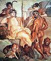 Hércules e Télefo - afresco romano - Herculano.jpg