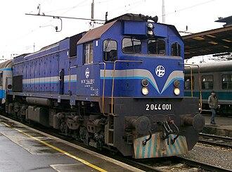 EMD GT22 Series - Image: HŽ 2044 001