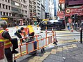 HK 上環 Sheung Wan 德輔道中 Des Voeux Road Central building team workers October 2019 SS2 03.jpg