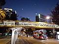 HK 晚上 night 香港電車 Hong Kong Tramways 遊車河 tour 高士威道 Causeway Road 電車站 tram stop January 2021 SS2 02.jpg