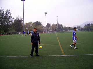 Leslie Santos Hong Kong footballer