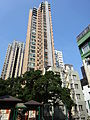 HK Sheung Wan 卜公花園 Blake Garden 順景雅庭 View Villa Jan-2015 TWGH Tower 125 facades DSC.JPG