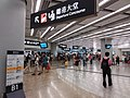 HK West Kln 廣深港高速鐵路 GSH XRL 香港西九龍站 MTR Station Sept 2018 SSG 28 departure concourse.jpg