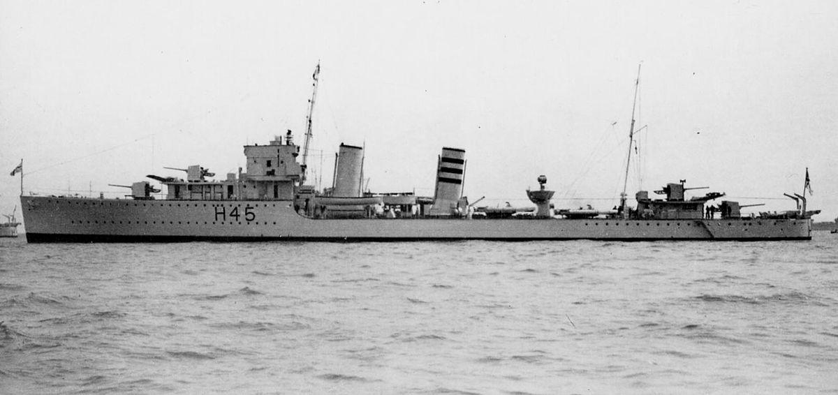 HMS Acheron (H45) – Wikipedia