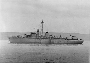 SS Empire Peacemaker - Image: HMS Empire Peacemaker FL9351