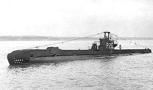 HMS Storm (P233) - Image: HMS Storm