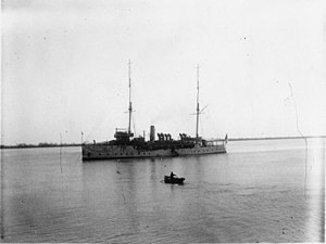 HMS Thistle, 1st Class Gunboat at the China Station 1910 - 1912 Q114767