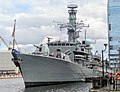 HMS Westminster moored at South Quay.jpg