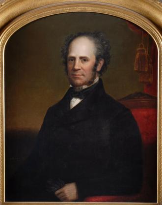 Horatio Seymour - Gubernatorial portrait of Horatio Seymour