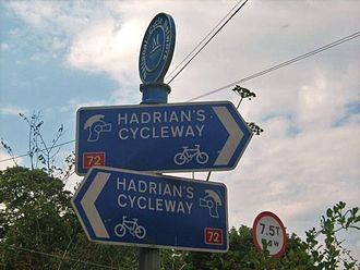 National Cycle Route 72 - Route Sign NCN 72