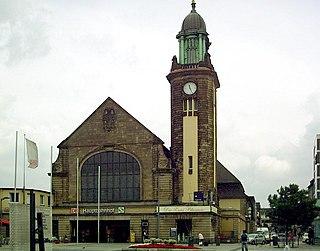 railway station in Hagen, Germany