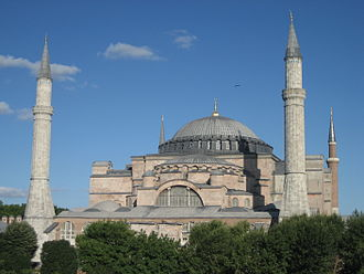 Outline of architecture - The Hagia Sophia, dating from 532AD, is one of the most famous examples of Byzantine architecture.