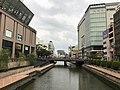 Hakatagawa River from Hakata-Kotobukibashi Bridge.jpg
