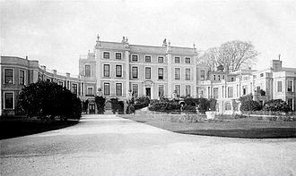 Haldon House - Photograph circa 1900