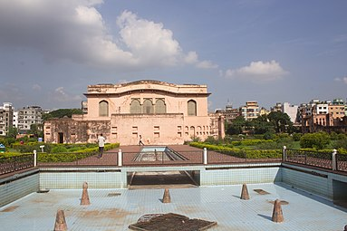 Hall and Hammam of Lalbagh Fort view 01.jpg