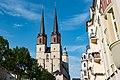 Halle (Saale), Marktplatz, Marktkirche von Westen 20170718 005.jpg