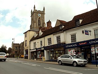 Halstead town in Essex, England