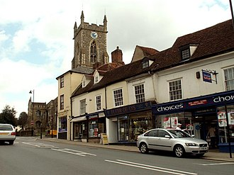 Halstead - Image: Halstead, Essex geograph.org.uk 151114