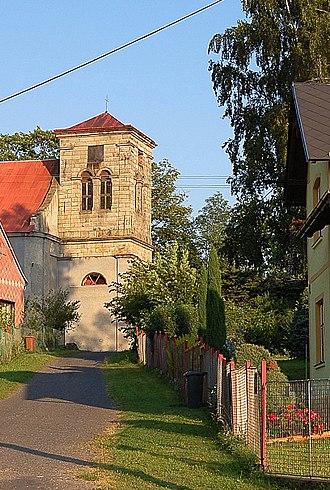 Halže - Church in the village