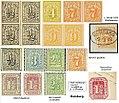 Hamburg City Post - stamps 19th century (de labeled).jpg
