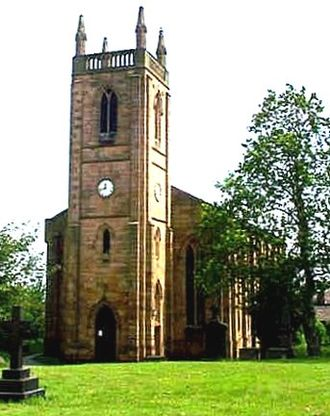 Batley - St Paul's Church in the Hanging Heaton area of Batley