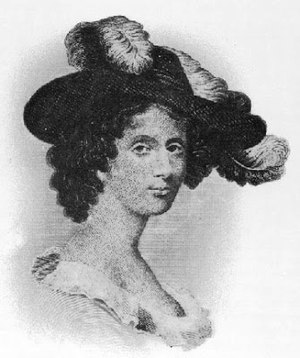Hannah Webster Foster - Engraving of Eliza Wharton by James Eddy, completed for the eleventh edition of The Coquette