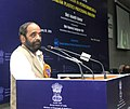 Hansraj Gangaram Ahir addressing at the presentation ceremony of the 6th National Awards for Technology Innovation in Petrochemicals & Downstream Plastics Processing Industry, in New Delhi on January 20, 2016.jpg