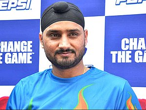 Harbhajan Singh - Harbhajan Singh at a promotional event in January 2013.