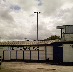 Leek Town F.C. - Harrison Park, Leek Town's home ground