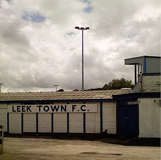 Leek County School Old Boys F.C. - Harrison Park, Leek CSOB's home ground