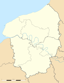 Greuville is located in Upper Normandy