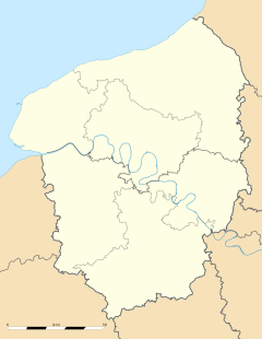 Saussay is located in Alta Normandia