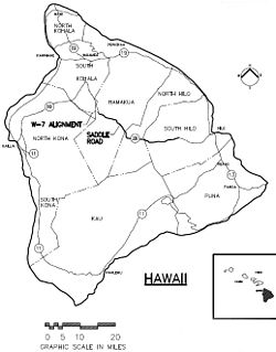 Hawaii Route 200 state highway in Hawaii County, Hawaii, United States