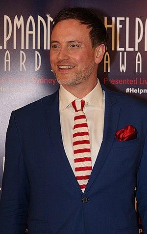 Hayden Tee - Hayden Tee at the 2015 Helpmann Awards