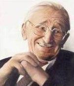Friedrich von Hayek negli ultimi anni della sua vita.