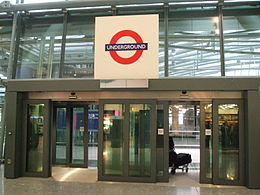 Heathrow Terminal 5 Underground entrance.JPG