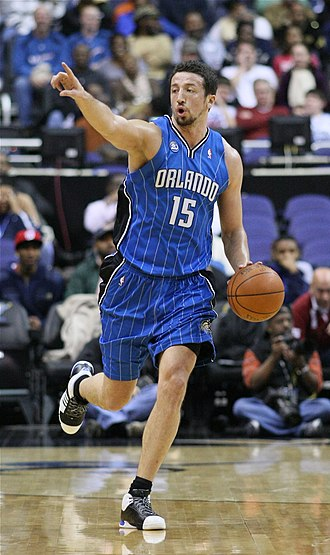 Hedo Türkoğlu - Türkoğlu with the Orlando Magic in 2008.