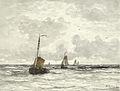 Hendrik Willem Mesdag - Vissersschepen in de branding.jpg