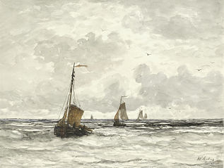 Fishing Boats in the Surf