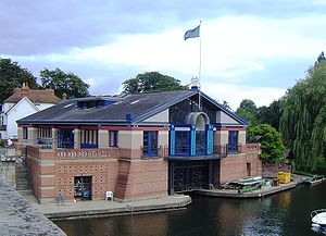 Henley Royal Regatta - Henley Royal Regatta Headquarters by Henley Bridge