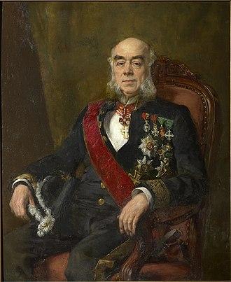 Senate (Belgium) - Henri t' Kint, president, painted by André Cluysenaar