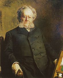 Henrik Ibsen by Eilif Peterssen, 1895