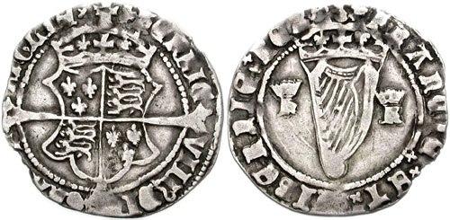 Henry 8 Irish groat 1541 756365