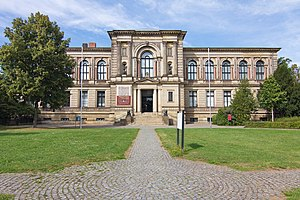 Hauptgebäude der Herzog August Bibliothek